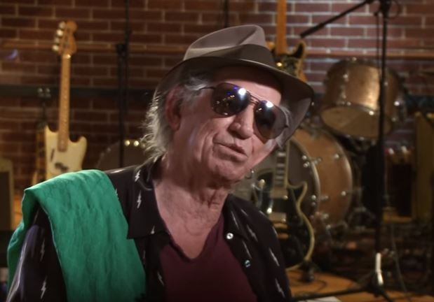 Keith Richards Kündigt Neues Album Der Rolling Stones An